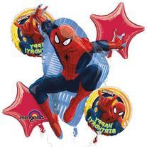 1 X Ultimate Spiderman Happy Birthday Mylar Foil Balloon