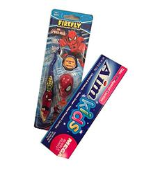 Ultimate Spiderman Toothbrush, Protective Toothbrush Cap,