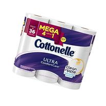 Cottonelle Ultra Comfort Care Toilet Paper, Mega Roll, 9