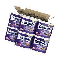 Cottonelle Ultra Comfort Care Toilet Paper, Double Roll, 4