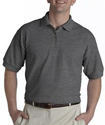 Gildan Ultra Cotton 6.5 oz. Piqué Polo, 2XL, ROYAL