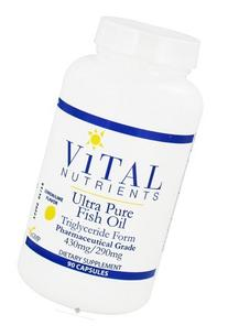 Vital Nutrients - Ultra Pure Fish Oil 800 Triglyceride Form