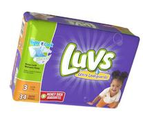 Luvs Ultra Leakguards Diapers size3 34ct