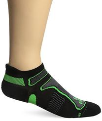 Balega Ultra Light No-Show Running Sock Black/Lime, L