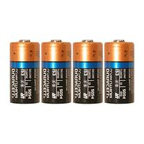 4 Count Duracell Ultra Lithium 3V CR17345 Leak Resistant