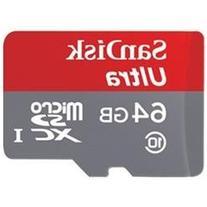 SanDisk Ultra 64 GB microSDHC - Class 10/UHS-I