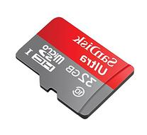 Professional Ultra SanDisk 64GB MicroSDXC card is custom