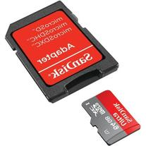 SanDisk 64GB Ultra microSDHC Card with Adapter