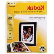 Kodak Ultra Premium Photo Paper High Gloss - 65 Sheets - 8.5
