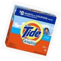 Tide Ultra Plus A Touch Of Downy Clean Breeze Scent Powder