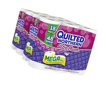 Quilted Northern Ultra Plush Bath Tissue, 18 Mega Rolls