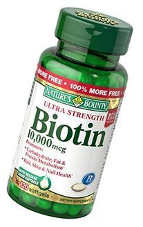 Nb Biotin 10000mcg Softge Size 60ct Nb Biotin 10000mcg