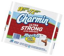 Charmin Ultra Strong 18 Mega Rolls Bathroom Toilet Tissue
