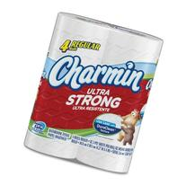 Charmin Ultra Strong Bathroom Tissue 82 2-Ply 4 roll