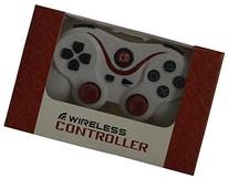 Ultra-comfort White & Red Wireless Bluetooth Ps3 Controller