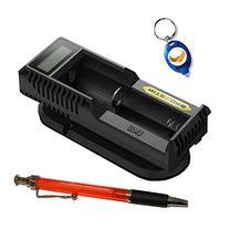 Nitecore UM10 Battery Charger w/FREE Keychain Light and