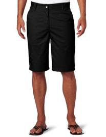 Lee Uniforms Men's 5 Pocket Short, Black, 34