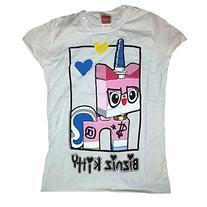 """The LEGO Movie """"Bizniz Kitty"""" Unikitty Girls Shirt"""