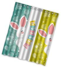Unique Custom Happy Easter Cute Rabbits Design Background