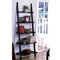 "1 X Unique 72"" High LEANING LADDER STYLE MAGAZINE / BOOK"