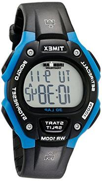 Timex Unisex T5K521 Ironman Traditional 30-Lap Black Resin