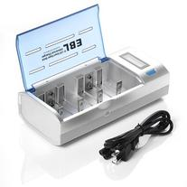 EBL Universal Battery Charger for AA AAA C D 9V Ni-MH Ni-CD