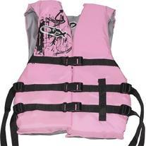 X20 Universal Adult Life Jacket Vest - Pink