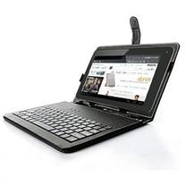 7-inch Universal Micro USB PU Leather Case Stand with FULL