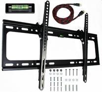 e-onsale Universal Flush Tilt Dual Hook Flat Screen TV Wall