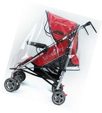 UZZO™ Universal Baby Single Stroller Clear Waterproof Rain