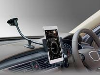 Long Arm Universal Car Phone Mount Holder - Windshield /