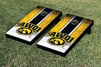 Iowa Hawkeyes Cornhole Game Set Vintage Version