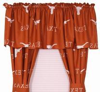 University of Texas Longhorns Window Treatments Curtains