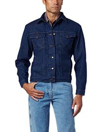 Wrangler Men's Unlined Denim Jacket, Denim, X-Large