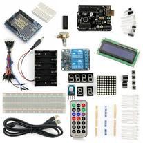 SainSmart UNO R3 Starter Kit with 18 Basic Arduino Tutorial