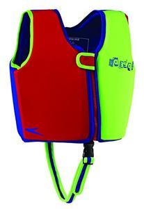 Speedo Kids' UPF 50+ Begin to Swim Classic Swim Vest, Neon