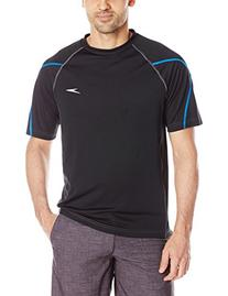 Speedo Men's UPF 50+ Breaker Short Sleeve Rashguard Swim Tee