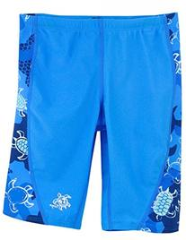 Tuga Boys Jammer Swim Short , Reef Red, 8/10 yrs