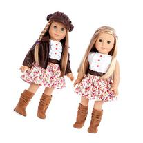 Urban Explorer - 18 inch doll clothes - Brown Motorcycle