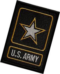 US Army Logo iron-on embroidered patch