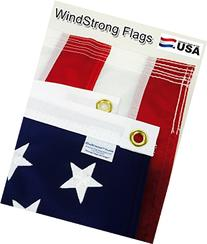 4x6 FT US American Windstrong Flag Deluxe SolarMax Nylon