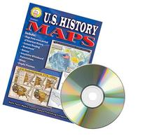 * US HISTORY MAPS CLIP ART CD