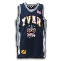 Rapid Dominance US NAVY Military Basketball Jersey - Navy
