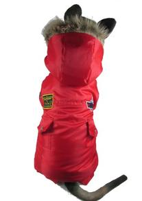 Evergreens USA Airman Style Pet Dogs Winter Coat for Medium