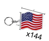 USA Flag Key Chains