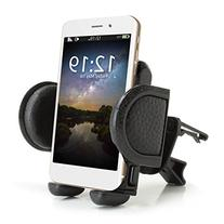 USA Gear In-Car Air Vent Phone Mount Holder with 360