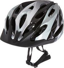 USA Helmet V-22 Elite Bicycle Helmet, Black/Silver
