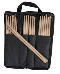 10 Pairs USA Made 5B Wood Tip Drumsticks with Onstage Stick