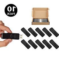 10pcs 8gb 8g usb 2.0 Flash Drive Memory Stick Fold Storage