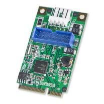 Syba 19-Pin USB 3.0 Header Mini PCI-Express Card with Female